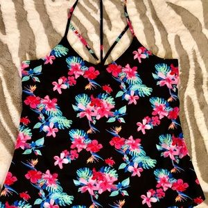 4/$20 SALE💥 STRAPPY FLORAL TOP